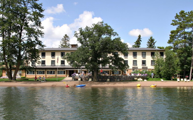 Resort Lodge from Lake
